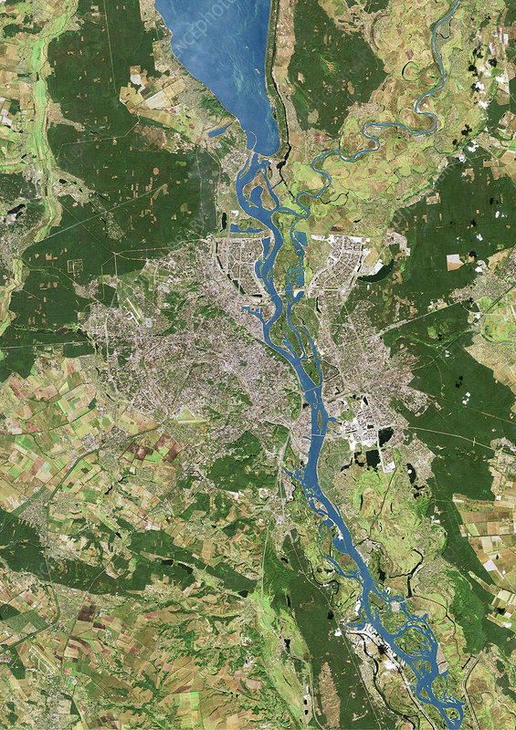 Kiev, satellite image