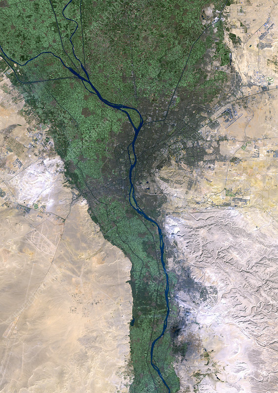 Cairo, satellite image