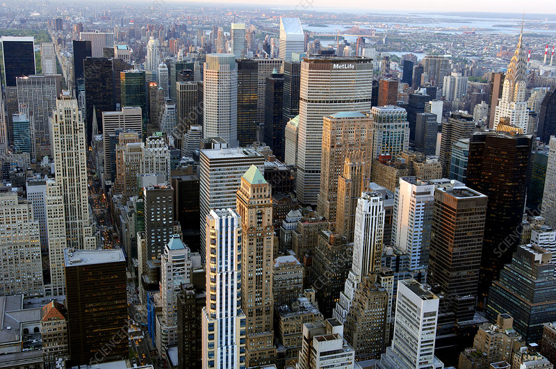 Skyscrapers, Manhattan, New York, USA