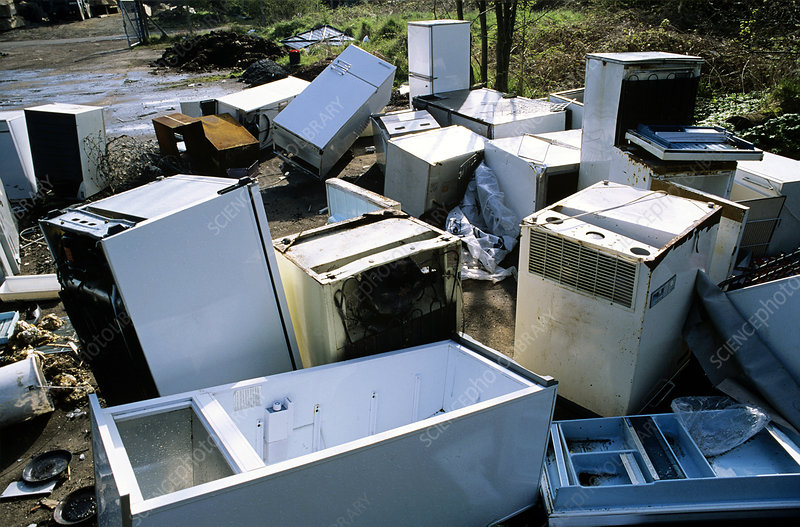 Dumped fridges
