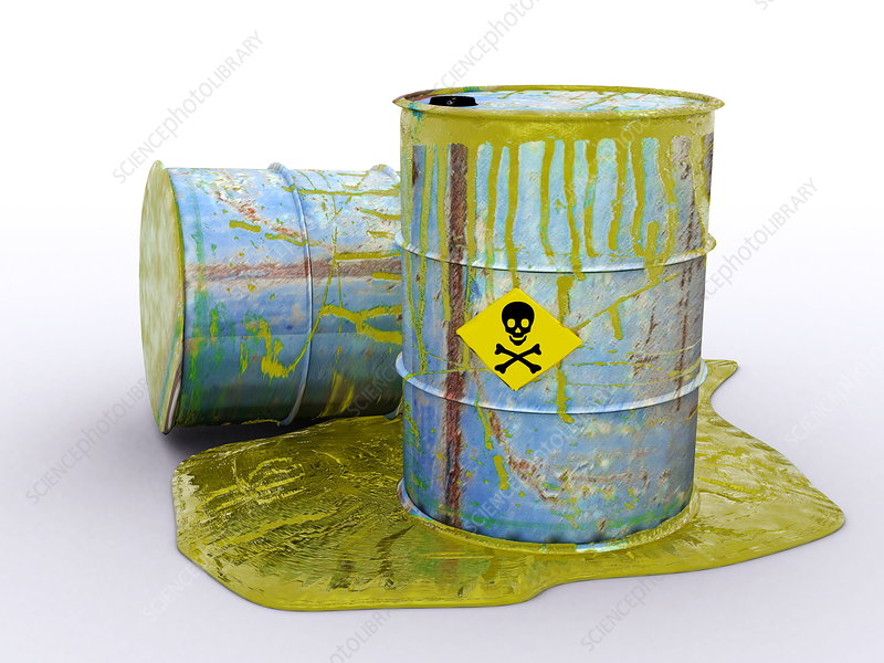 Hazardous waste, artwork