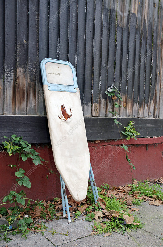 Dumped ironing board