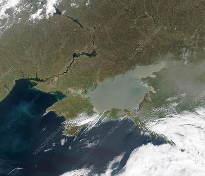 Eutrophication in the Sea of Azov
