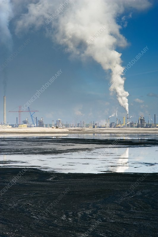 Oil industry pollution