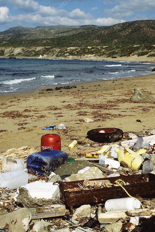 آلودگی ساحل