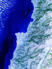 Lebanese oil spill, 8th August 2006