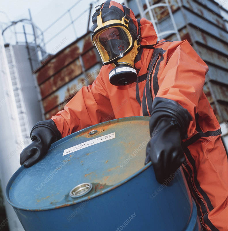 Toxic chemical treatment