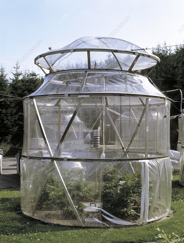 Pollution research dome