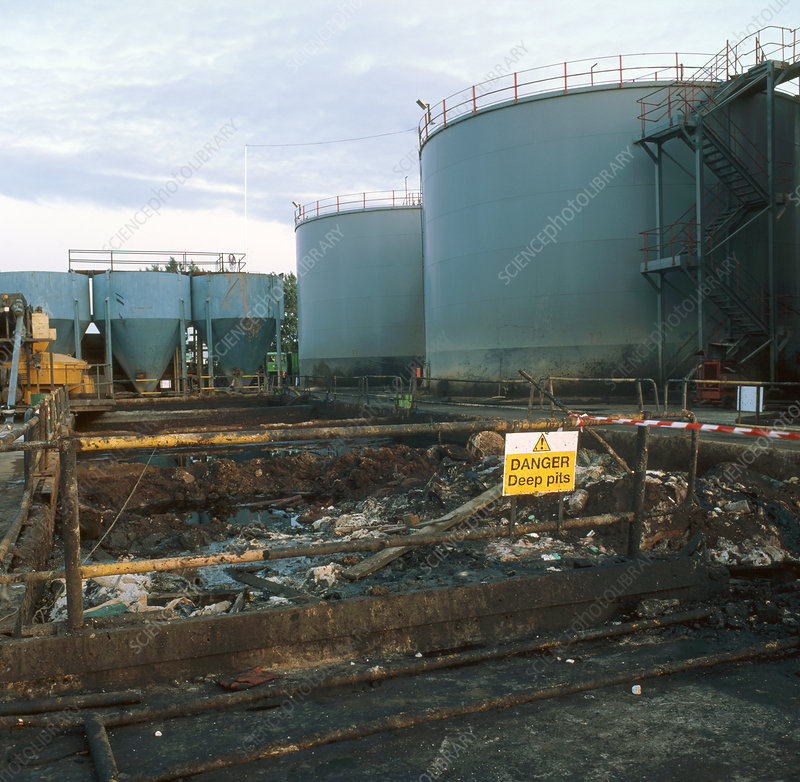 Chemical waste disposal site