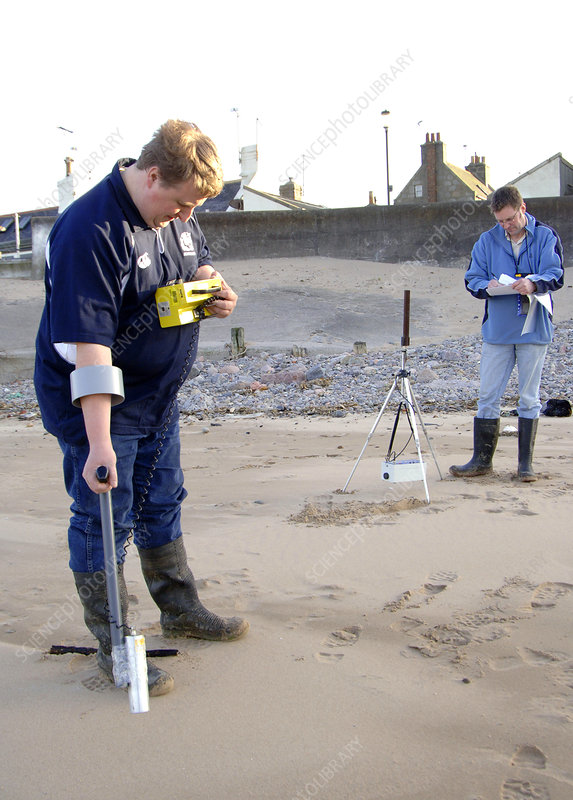 Coastal radiation monitoring