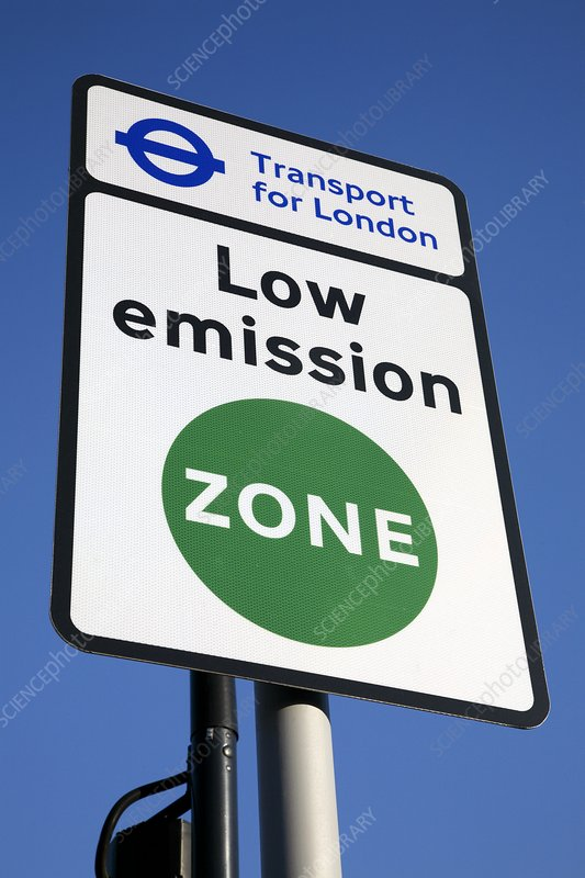 London's Low Emission Zone, 2008