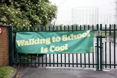 Walking to school campaign
