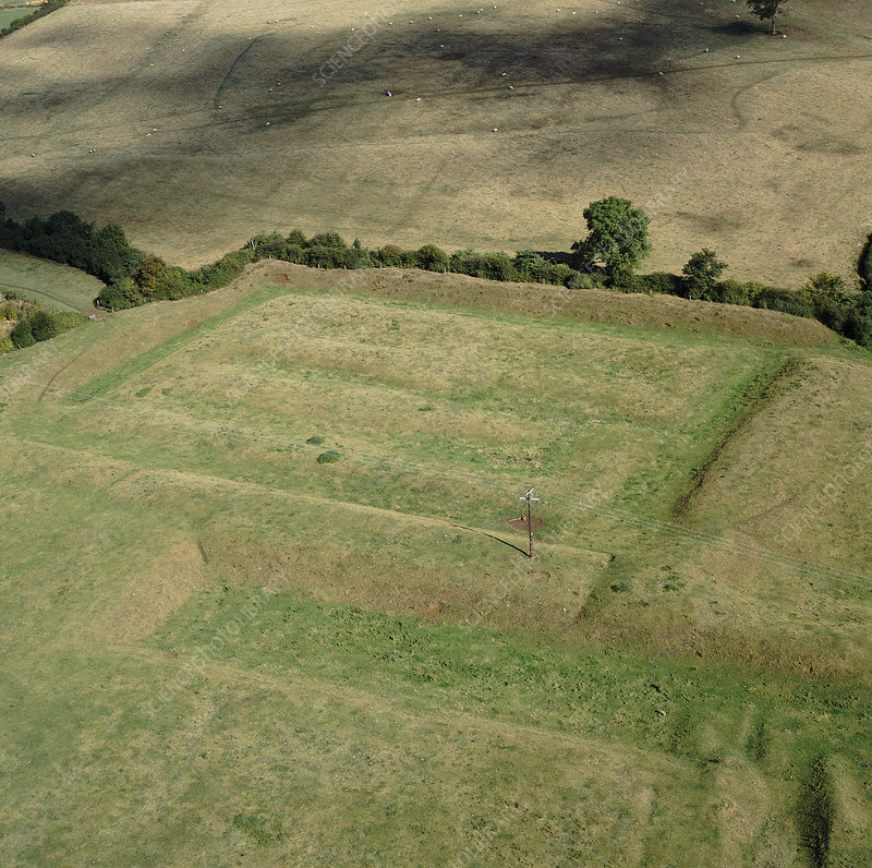 Castle Hill medieval earthworks