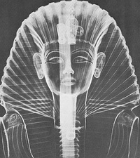 X-ray of an Egyptian Mask