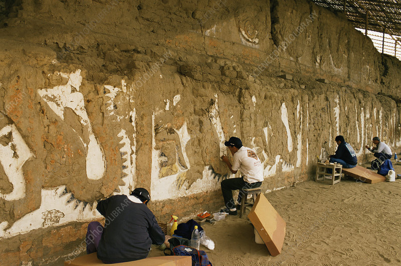 Moche archaeological site, Peru