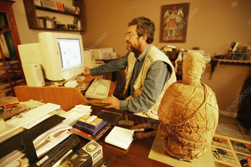 Inca mummy research, Peru