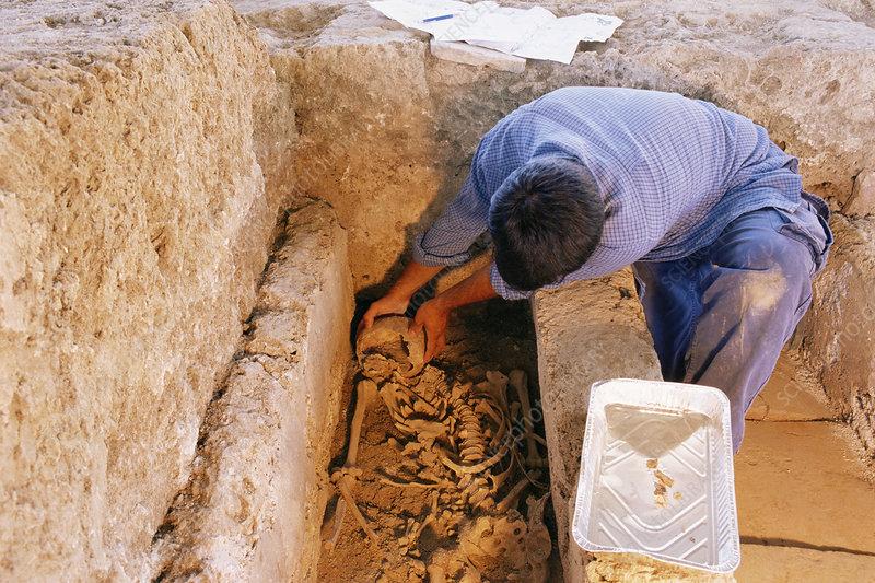Medieval tombs