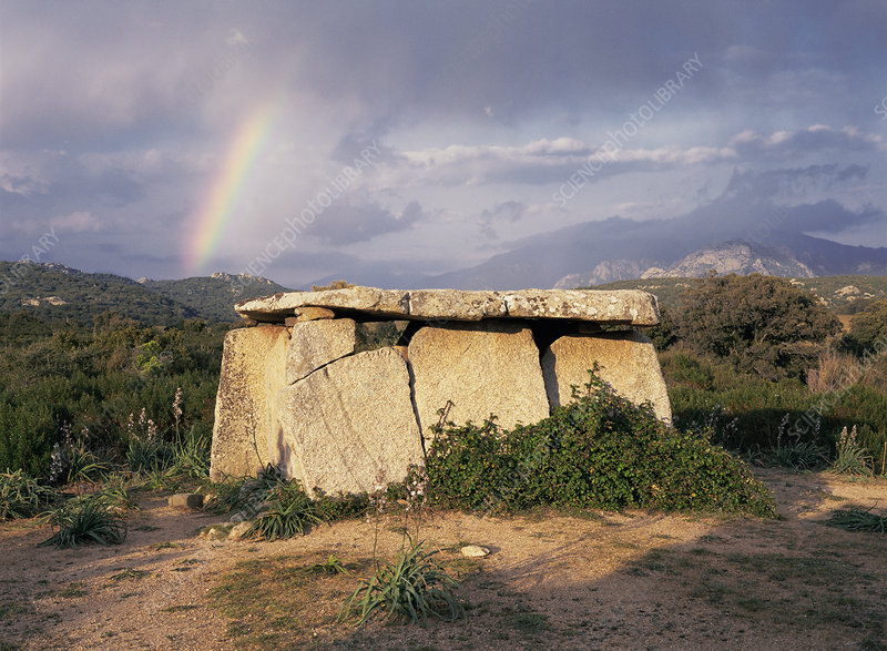 Stone Age megalithic tomb