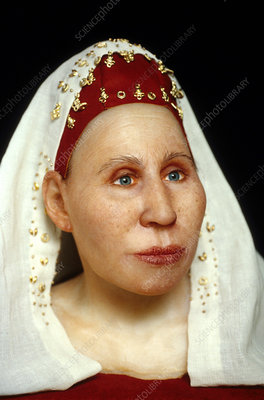 Model of an Ostrogoth woman