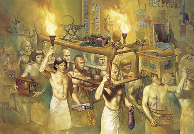 Ancient Egyptian burial