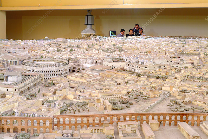 4th century Rome, virtual reality model