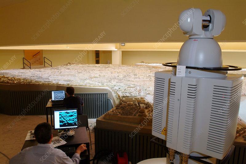 Virtual reality model, 4th century Rome