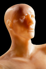 Model of Oetzi the Iceman