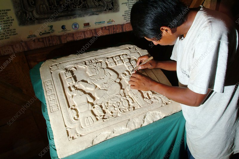 Reproducing a Mayan artefact