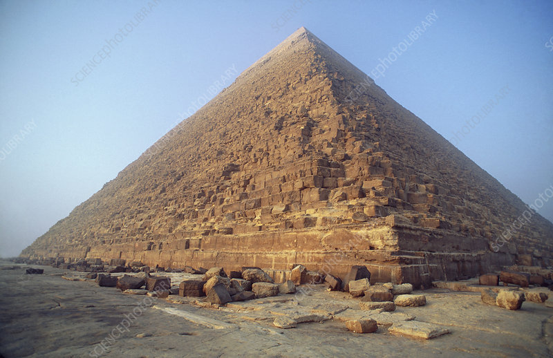 Pyramid at Giza during the day, Egypt