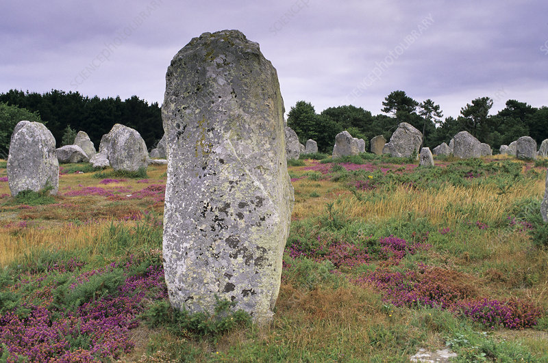 Neolithic stone alignments