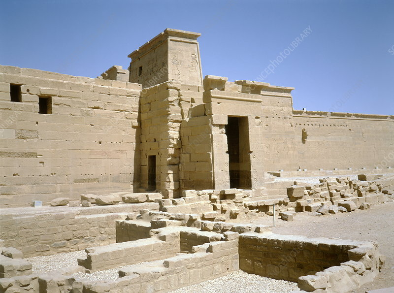 Ancient Egyptian temple at Philae