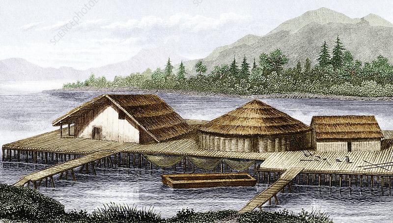 Prehistoric lake village