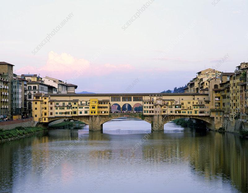 Oldest bridge in Florence