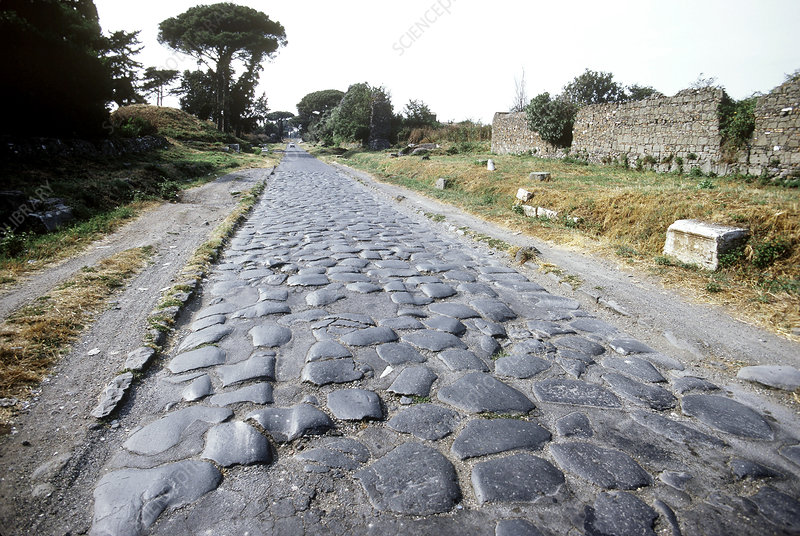 Cobblestones of the Appian Way