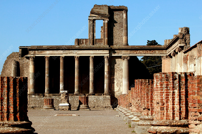 Roman ruins, Pompeii
