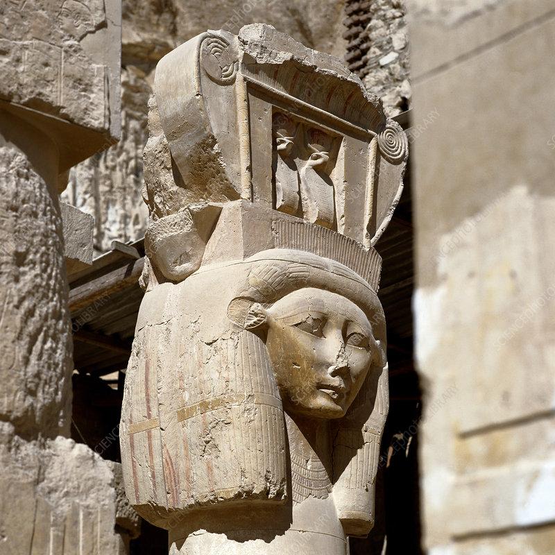 Hathor Column Capital