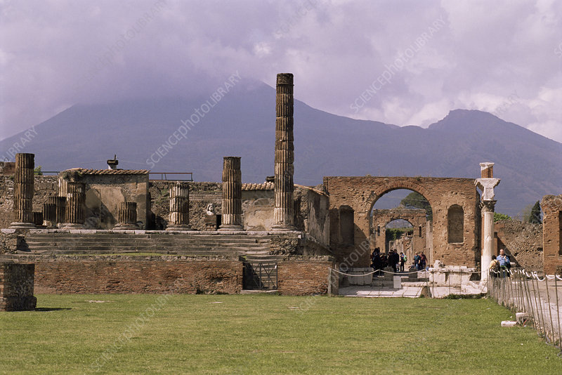 Temple of Jupiter ruins, Pompeii