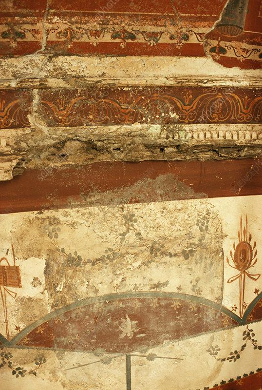 Mural, Villa of the Papyri, Herculaneum