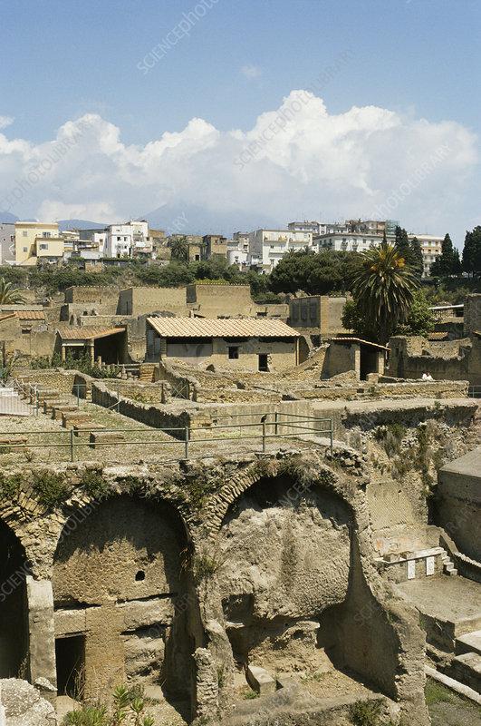 Roman villa, Herculaneum