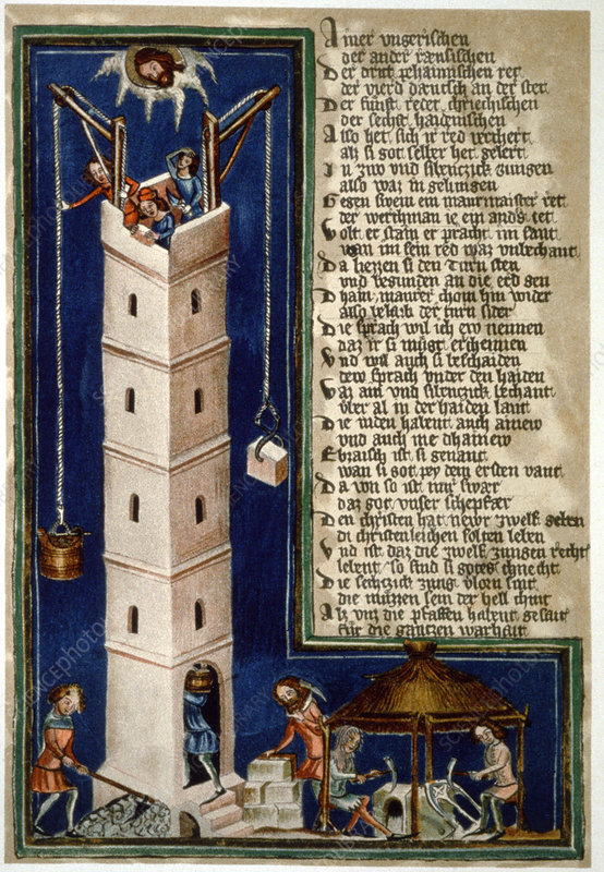 Building the tower of Babel