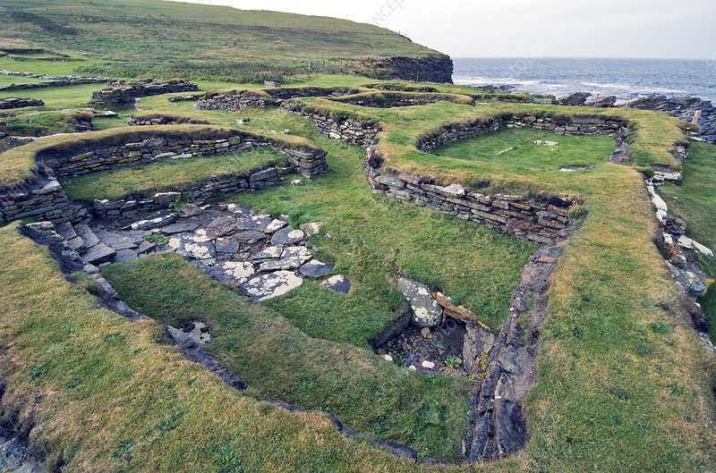 Norse settlement, Brough of Birsay