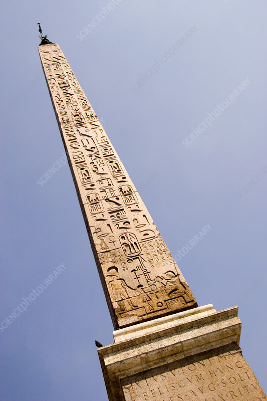 Ancient Egyptian Obelisk in Rome