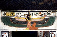 Ancient Egyptian goddess Ma'at