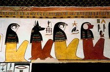 Egyptian gods, tomb of Queen Nefertari