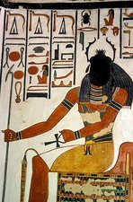 Egyptian god Khepri