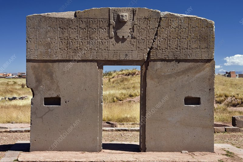 Gateway of the Sun, Tiahuanaco, Bolivia