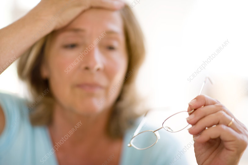 Headache caused by bad eyesight