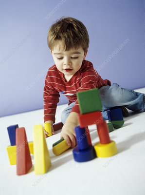 Boy playing