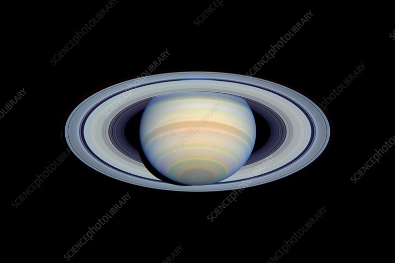 Saturn, optical HST image