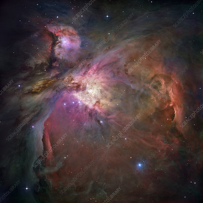 Orion nebula (M42 and M43)